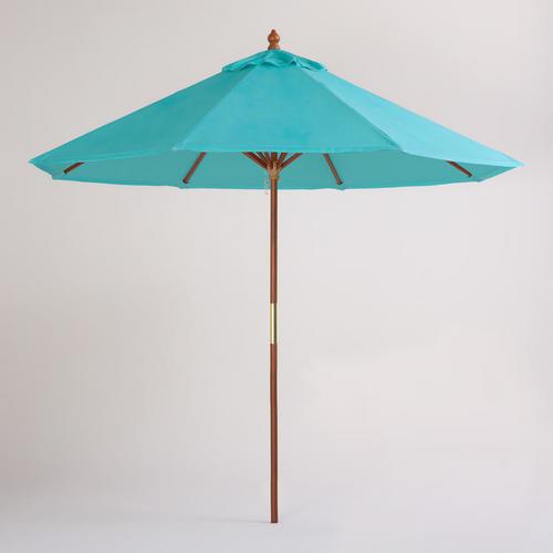 Patio Garden Threshold Brand Shop Target Turquoise Patio Umbrella ...
