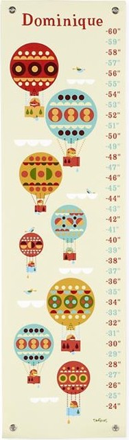 Contemporary Growth Charts by The Land of Nod