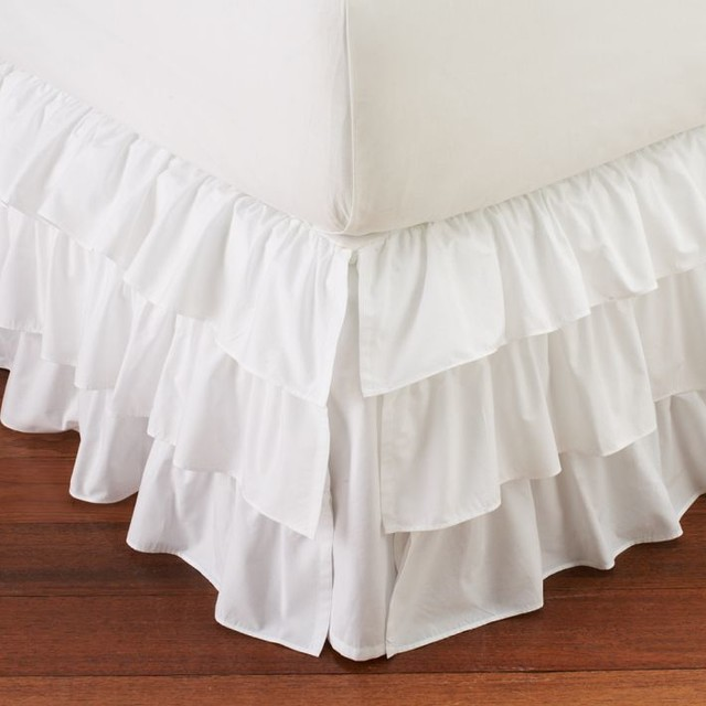 Ruffled Bed Skirt 106