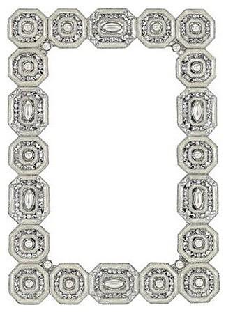 """Olivia Riegel """"Medallion"""" Frame modern-picture-frames"""