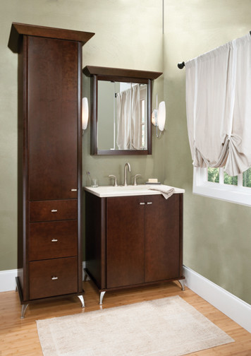 Luxton Designer Suites From The Elegant Bath Collection Traditional Bathroom Vanities And