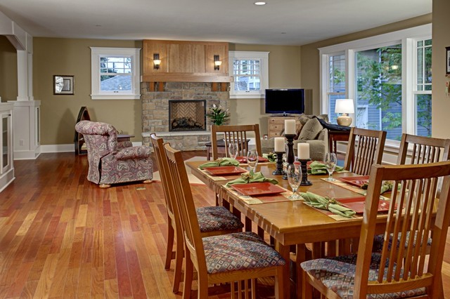 Beaver Lake Estate traditional-dining-room