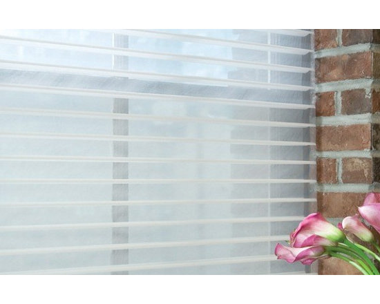 """@Home Collection 2"""" Linen Light Filtering Sheer -"""
