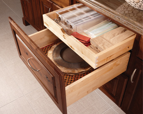 """Organization done """"Just Right"""" traditional-kitchen"""