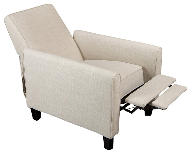 Jamestown Design Recliner Club Chair - Modern - Living ...