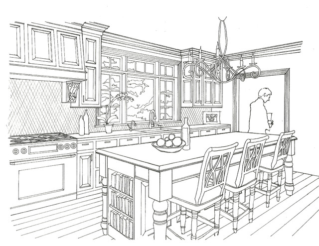 Norman Renovation traditional-rendering