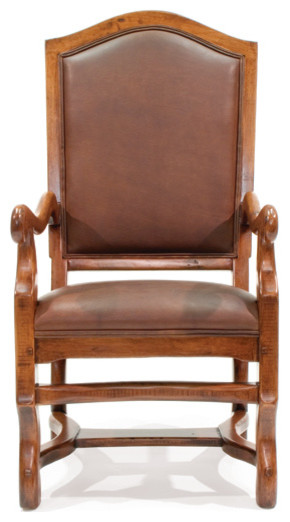 Bordeaux Dining Chair with Arms - traditional - dining chairs