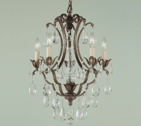 Murray Feiss Maison de Ville Collection Chandelier traditional-chandeliers