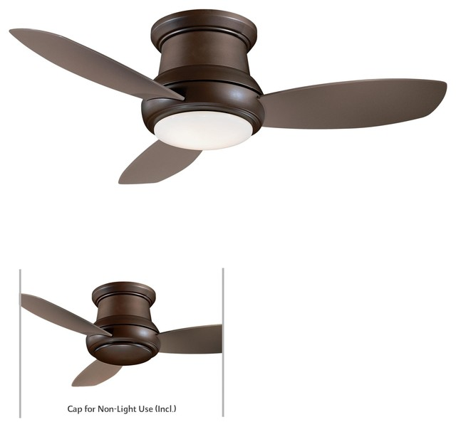 Mink Aire Concept II 44 Ceiling Fan in Oil Rubbed Bronze contemporary-ceiling-fans