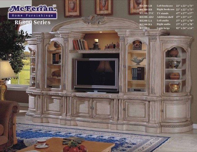McFerran Home Furnishing - TV Consol - RE300-C traditional-media-storage