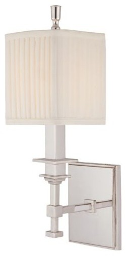 Berwick Single Wall Sconce by Hudson Valley Lighting modern-wall-lighting