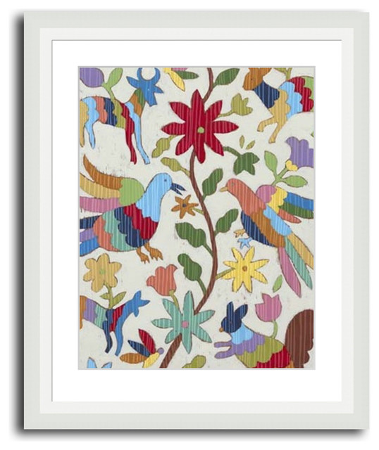 Otomi Embroidery I - Modern - Artwork - by MonDeDe Designs