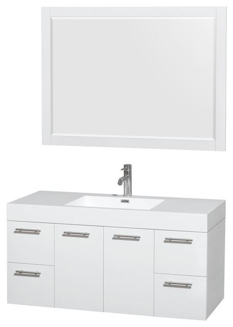 top integrated sink 46 modern bathroom vanities and sink consoles