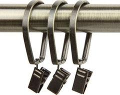 Window Treatments - drape clip rings