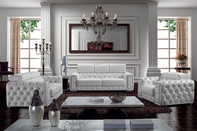 Living Room Furniture Sets beautiful tufted living room set contemporary - room design ideas