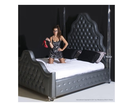 Allison Bed by H Studio - The Allison Bed, with its exquisite detailing and beautifully shaped headboard, makes for an exceptionally striking place to lay your head.