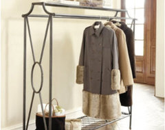 Niles Double Coat Rack traditional clothes racks