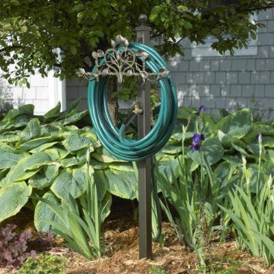 Vine & Trellis Hose Station traditional-garden-hose-reels