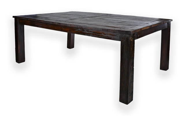 reclaimed rosewood 8 person dining table rustic dining
