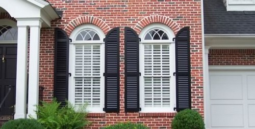 Working Exterior Shutters And Type Of Window