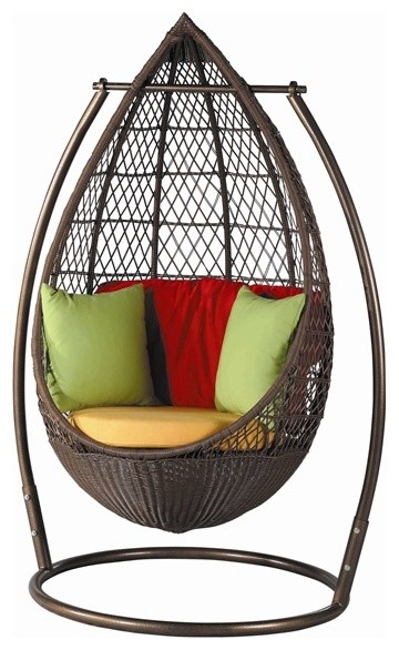 Patio Hanging Egg Chair DL017 Modern Hammocks And Swing Chairs by DefyS
