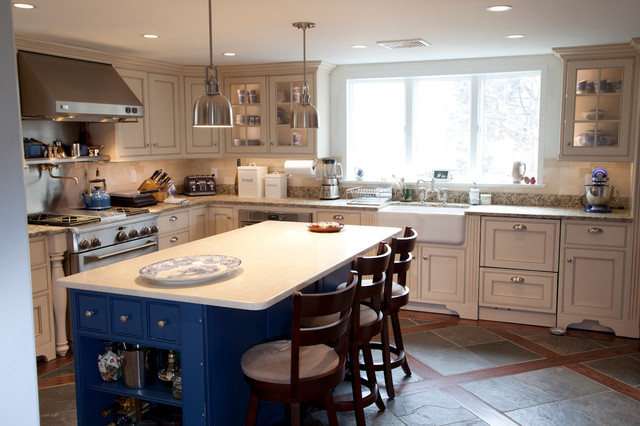 New Kitchen Yonkers NY Traditional Kitchen Cabinetry New York By