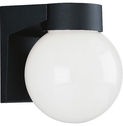 Cast Aluminum Incandescent Globe Outdoor Wall Lantern modern-lighting