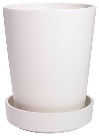 Bladet plant pot with saucer scandinavian indoor pots and planters by ikea - Indoor plant pots with saucers ...