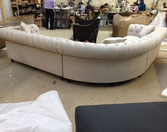 KENZIE STYLE ( aka NELLIE) - Chesterfield Sofa or Sectional traditional-sectional-sofas