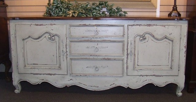 Ivory Habersham Style Sideboard Buffet traditional-buffets-and-sideboards