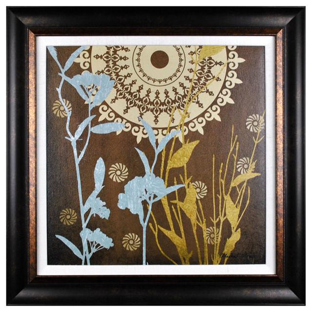 Elizabeth Jane Art Collection Botanical Silhouettes II Wall Art contemporary-artwork