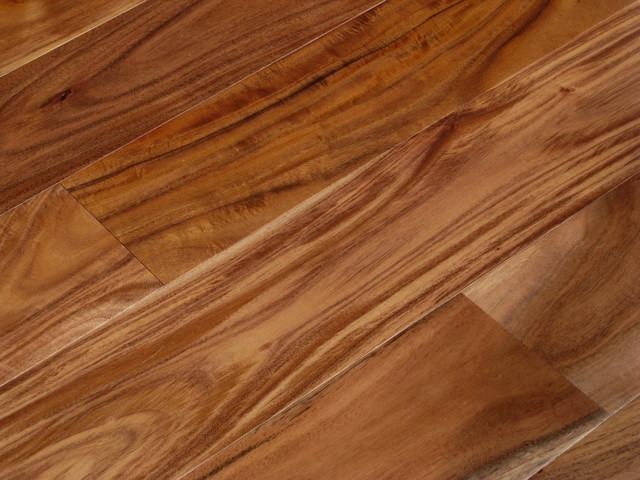 Acacia asian walnut plank hardwood floors for Traditional flooring