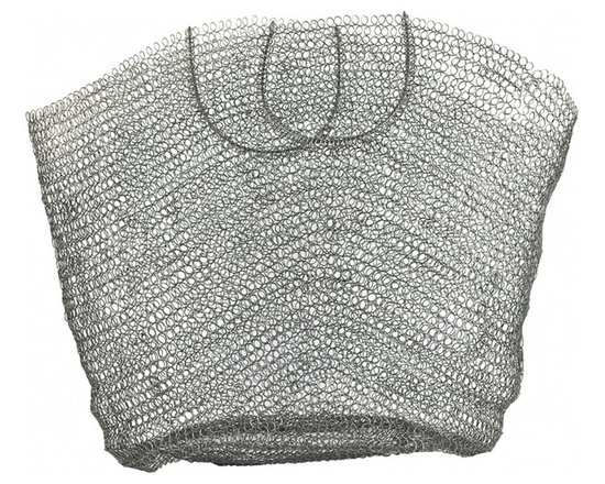 Bouclé Market Basket - Large - Use this basket, for food, flowers, or decorate with it. Its vintage inspired.