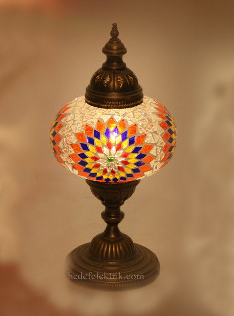 Turkish Style - Mosaic Lighting eclectic-table-lamps
