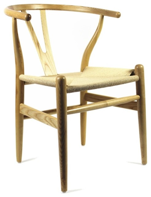 Woodstring Dining Chair - Natural traditional-dining-chairs