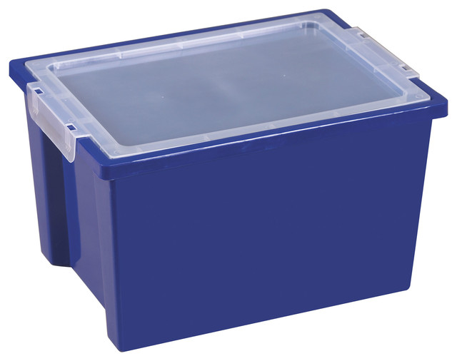 Large Plastic Storage Bins Sterilite 19889804 70 Quart 66