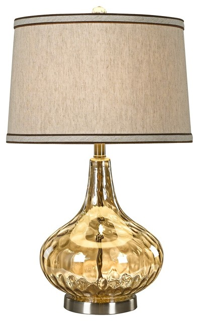 Modern outdoor track lighting for hall kitchen bedroom modern track - Florence Stone Pattern Gold Glass Table Lamp