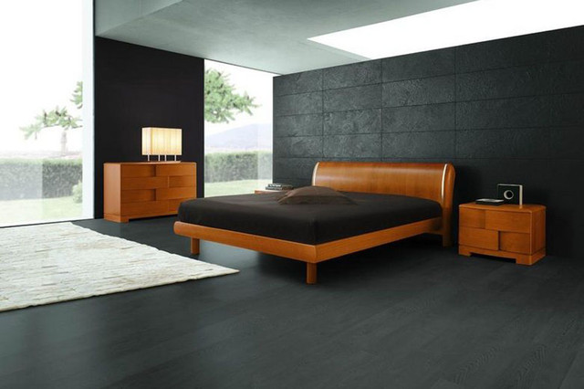 Made in Italy Wood Modern Furniture Design Set with Extra Storage