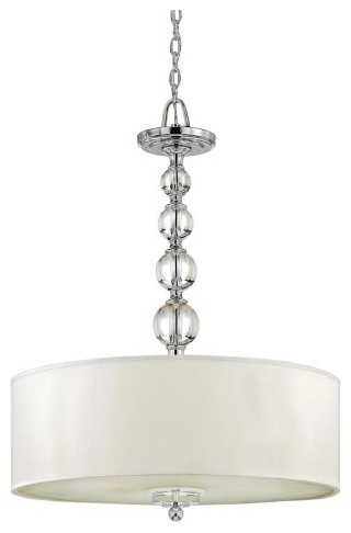 Quoizel DW1824C Downtown Pendant - 33H in. - contemporary