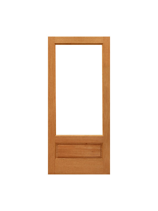 "1-lite-P/B French Brazilian Mahogany Wood 1 Panel IG Glass Single Door - SKU#    1-lite-P/B-Ext-1Brand    AAWDoor Type    FrenchManufacturer Collection    Mahogany French DoorsDoor Model    Door Material    WoodWoodgrain    MahoganyVeneer    Price    530Door Size Options    24"" x 96"" (2'-0"" x 8'-0"")  $030"" x 96"" (2'-6"" x 8'-0"")  $032"" x 96"" (2'-8"" x 8'-0"")  $036"" x 96"" (3'-0"" x 8'-0"")  $0Core Type    SolidDoor Style    Door Lite Style    3/4 Lite , 1 LiteDoor Panel Style    1 Panel , Ovolo StickingHome Style Matching    Craftsman , Colonial , Cape Cod , VictorianDoor Construction    Engineered Stiles and RailsPrehanging Options    Prehung , SlabPrehung Configuration    Single DoorDoor Thickness (Inches)    1.75Glass Thickness (Inches)    1/2Glass Type    Double GlazedGlass Caming    Glass Features    Insulated , Tempered , low-E , Beveled , DualGlass Style    Clear , White LaminatedGlass Texture    Clear , White LaminatedGlass Obscurity    No Obscurity , High ObscurityDoor Features    Door Approvals    FSCDoor Finishes    Door Accessories    Weight (lbs)    340Crating Size    25"" (w)x 108"" (l)x 52"" (h)Lead Time    Slab Doors: 7 daysPrehung:14 daysPrefinished, PreHung:21 daysWarranty    1 Year Limited Manufacturer WarrantyHere you can download warranty PDF document."