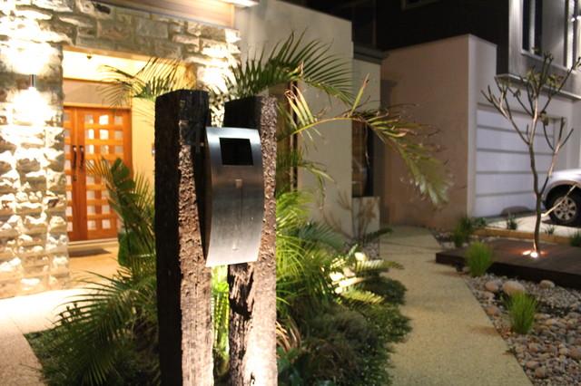 The Letterbox Design Ascher Smith Landscape Designs