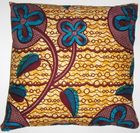 African  wax print pillow covers eclectic-decorative-pillows