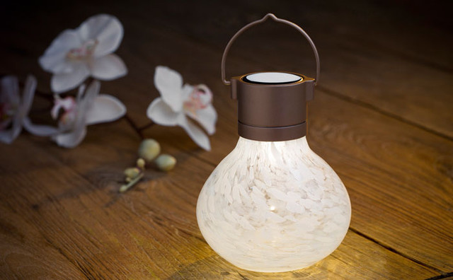 Solar Tea Lantern traditional outdoor lighting