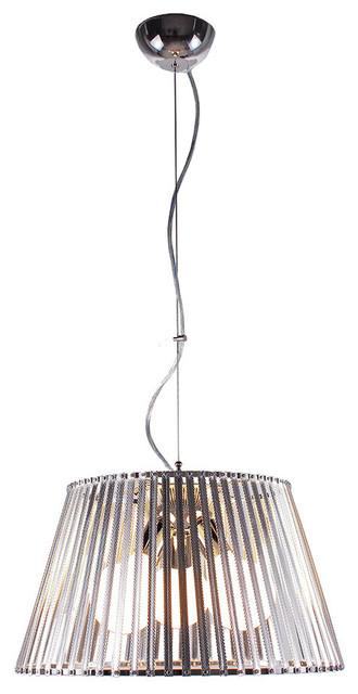 Bromi Design Fullerton 3-Light Stainless Steel Pendant contemporary-pendant-lighting