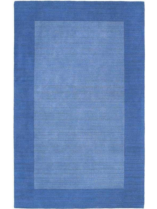 """Kaleen - Kaleen Regency Regency (Glaicer) 3'6"""" x 5'3"""" Rug - Regency offers an array of fourteen beautifully elegant subtle tones for today's casual lifestyles. Choose from rich timeless hues shaded with evidence of light brush strokes. These 100% virgin wool, hand loomed rugs are sure to add comfort and warmth to any setting. Hand crafted in India."""