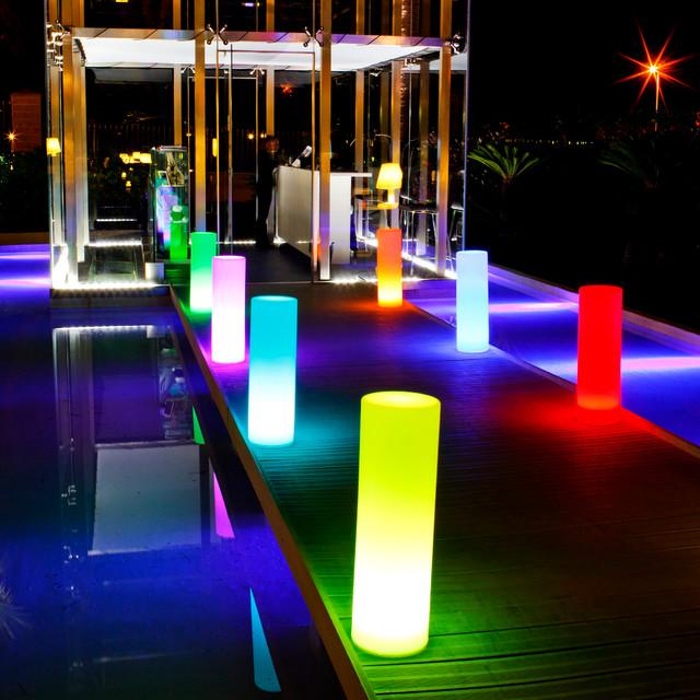 Modern Outdoor Cordless Lighting Beach Style