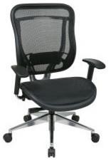 Black Executive Mesh High Back Office Chair modern-task-chairs