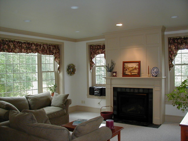 test traditional living room