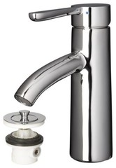 DALSKÄR Bath faucet with strainer, chrome plated