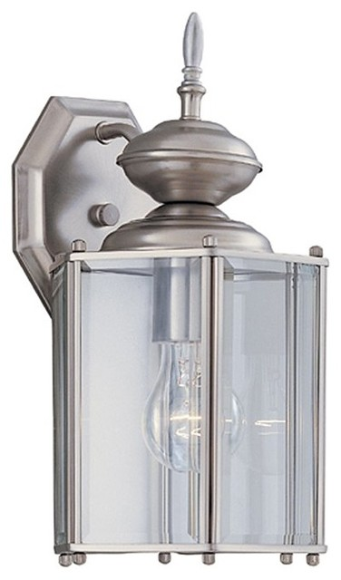 "Designers Fountain 1101-CL-WB 7"" Wall Lantern transitional-outdoor-wall-lights-and-sconces"
